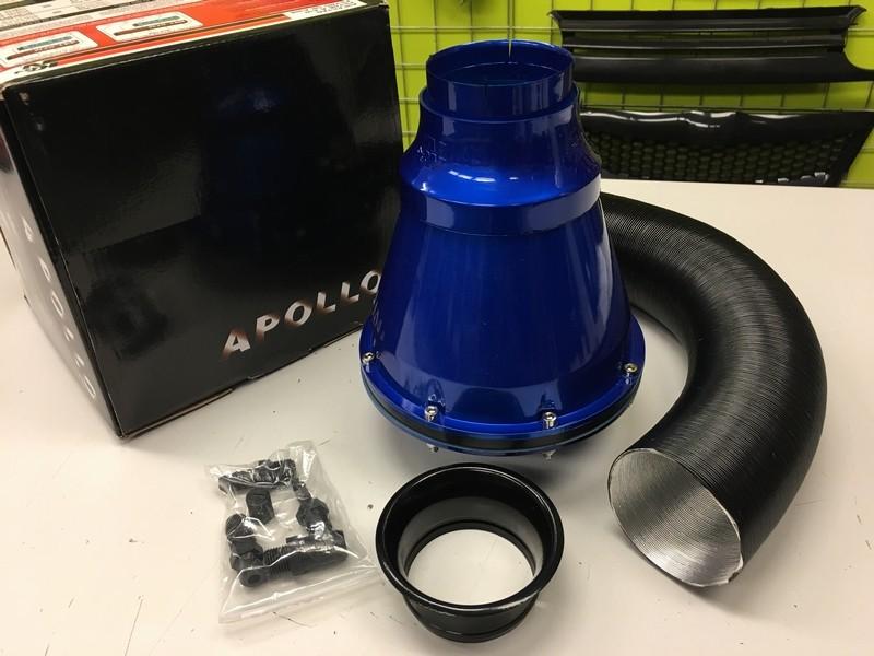 98f61e4004a57 Kvalitný krytý športový vzduchový filter APOLO modrý   Tuning-in.sk