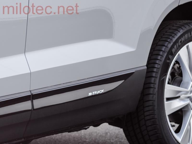 829d60708d6e Škoda Karoq - Lišty bočných dverí M-TRACK - čierny lesklý