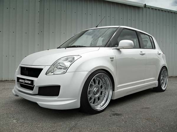 Kompletný body kit Suzuki Swift 04-10 - VELVET