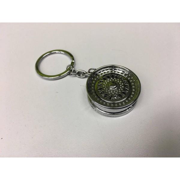 Prívesok na kľúče - strieborné koleso  12b77ada5e8