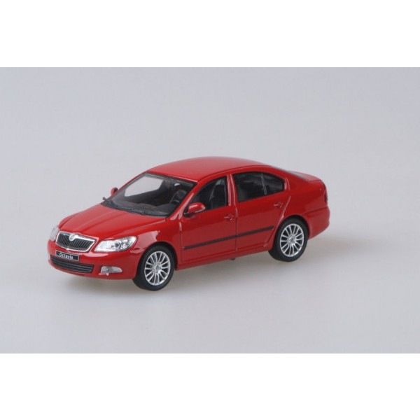 Abrex model 1:43 Škoda Octavia II Facelift CORRIDA RED