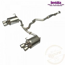 Subaru Impreza 10- 4dv. Sedan 2.5 STi - INVIDIA cat-back system Q300TL