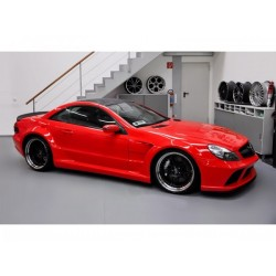 Mercedes SL R230 Fac.- Komplet body kit prestavba na Black Series
